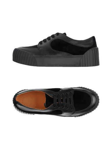 Marc By Marc Jacobs 'retro Low-top' Sneakers In Black
