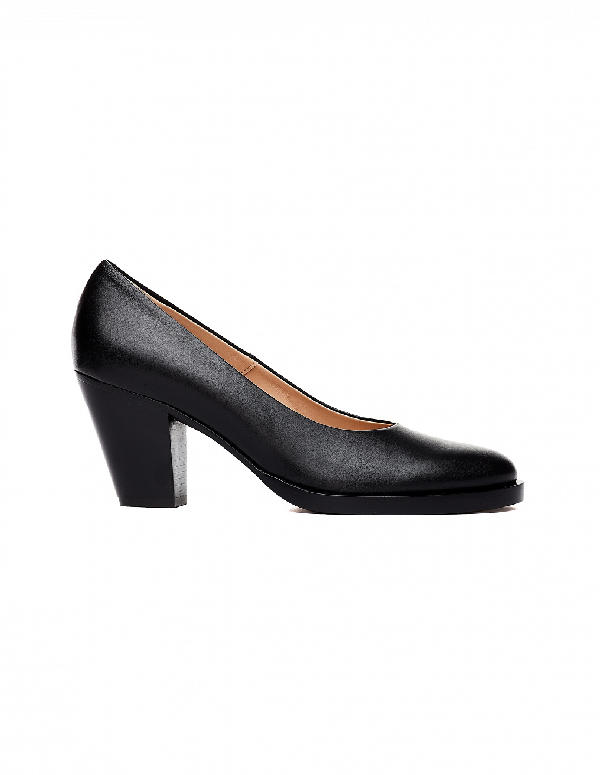 A.F.Vandevorst Black Leather Pumps