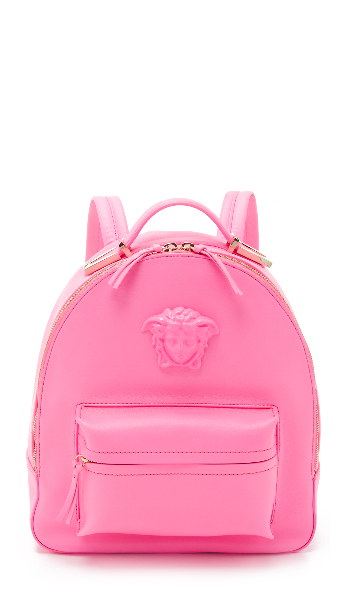 397531a111 Versace Medusa Palazzo Leather Backpack In Pink