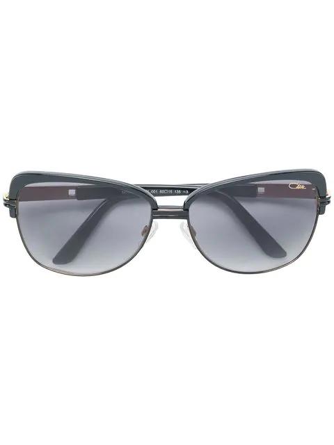 Cazal Cat-eye Shaped Sunglasses In Black
