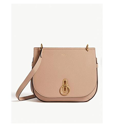 02e9a30e2a Mulberry Small Amberley Leather Crossbody Bag - Beige In Rosewater ...