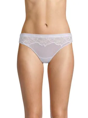 Addiction Nouvelle Lingerie Cotton Candy Tanga In Lilac