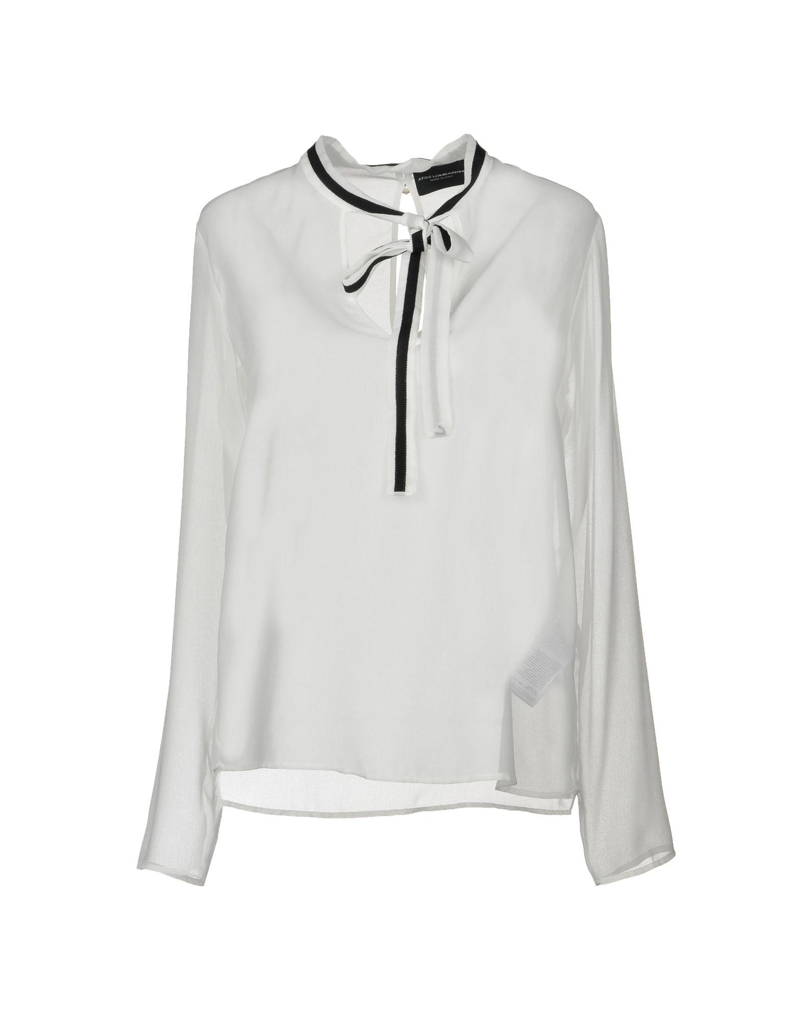 Atos Lombardini Blouse In White