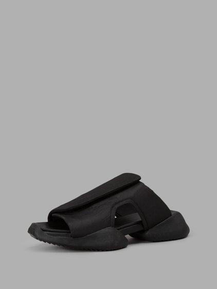 50fc699016bc2 Rick Owens X Adidas Men s Velcro Strap Ro Clog Sandals In Black ...