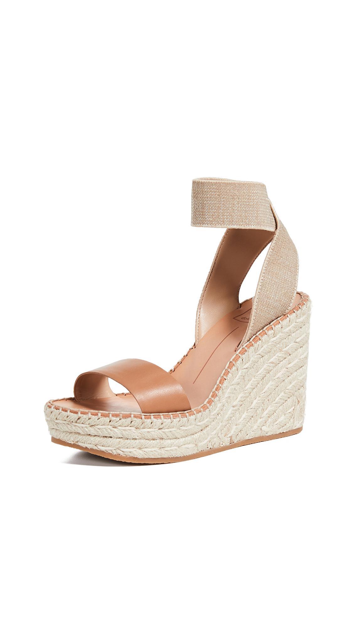 4e56fe7c43f Dolce Vita Pavlin Espadrille Wedge Sandal In Caramel