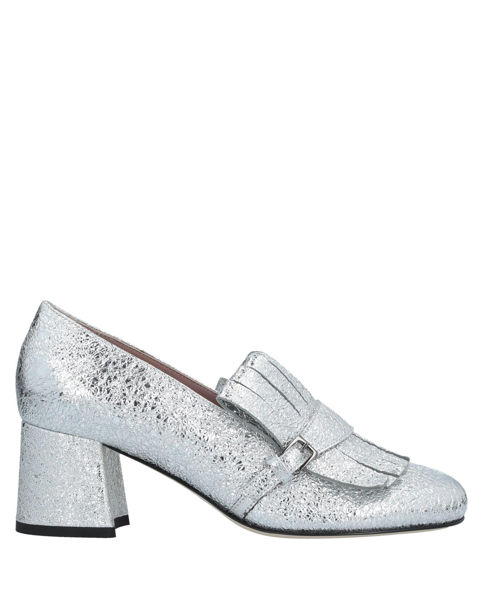 Gianna Meliani Loafers In Silver