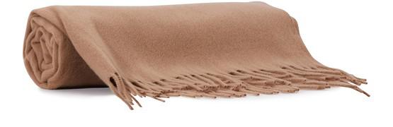 Acne Studios Canada Brown Wool Scarf