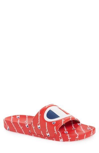 c28f5cf5c4e5 Champion Ipo Repeat Sports Slide In Red