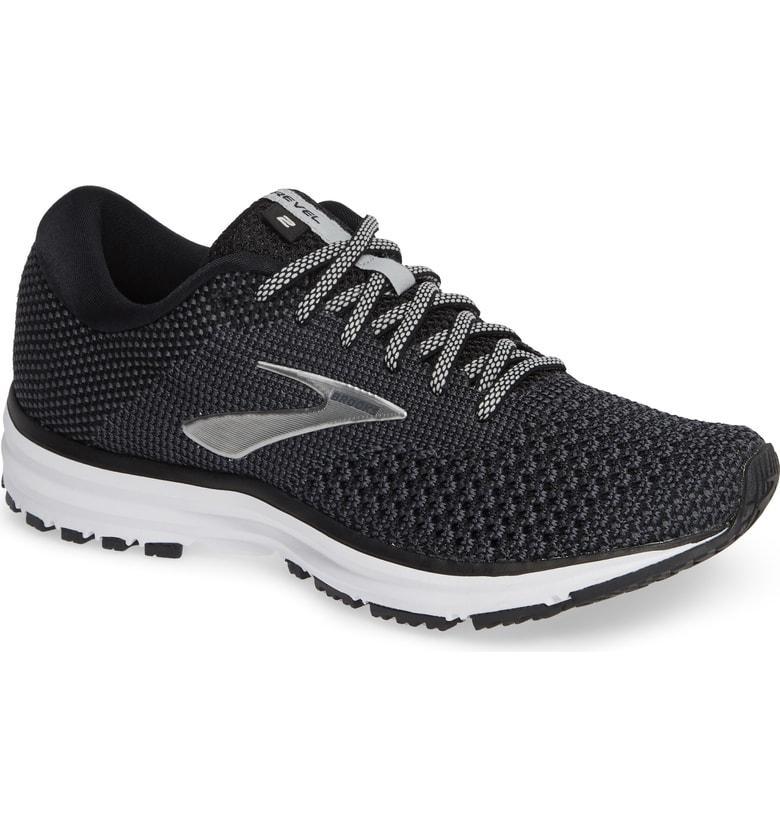 Brooks Revel 2 Running Shoe In Black