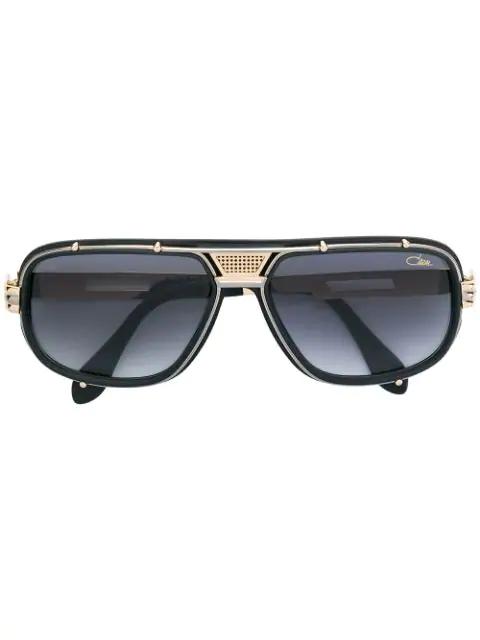 Cazal 665 Sunglasses In Black