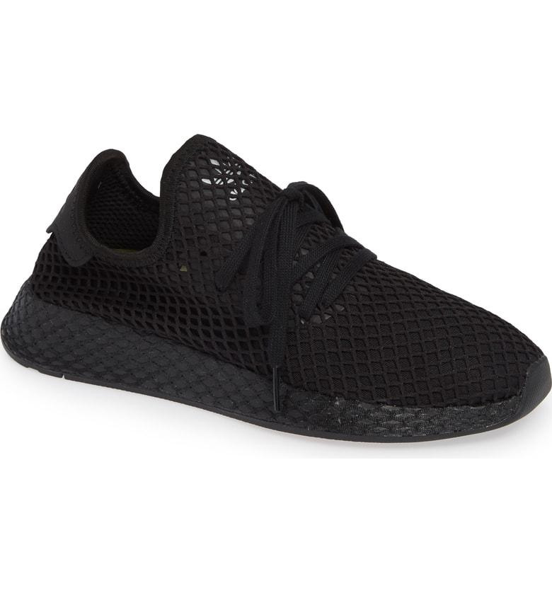 4daa9cf48dafb Adidas Originals Adidas Men s Deerupt Runner Casual Sneakers From Finish  Line In Core Black Core