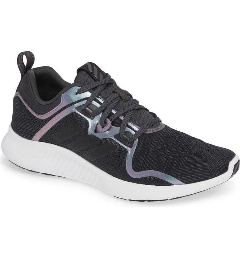 new style 03606 86d91 Adidas Originals Womens Edge Bounce Running Shoes, Black