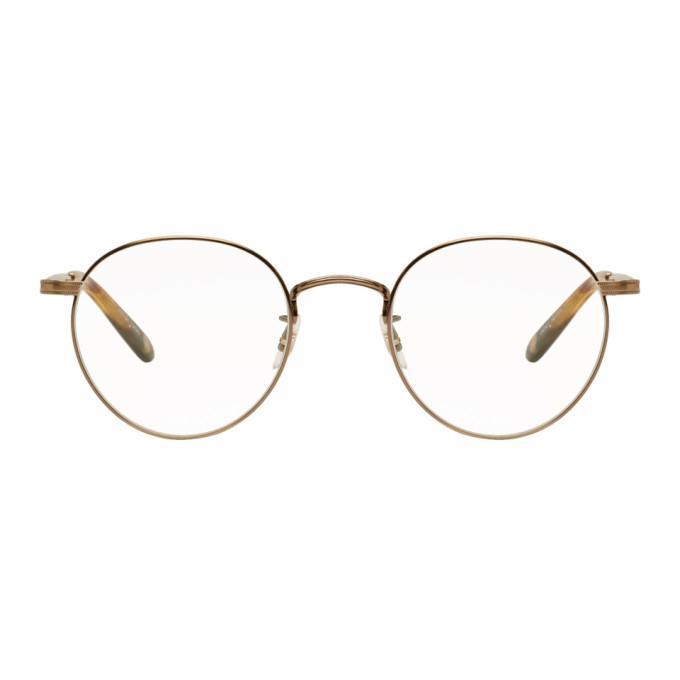 213cb4cae9 Garrett Leight Wilson 49 Round-Frame Glasses In Gold