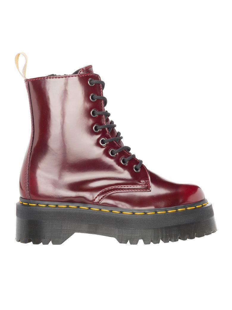 39342c5c91e7 Dr. Martens Exclusive Cherry Jadon Boots - Red