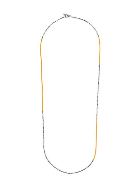M. Cohen Beaded Necklace In Metallic