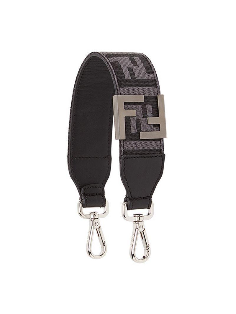 Fendi Mini Strap You Shoulder Strap - Grey
