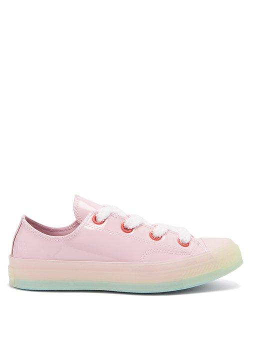 bcc56bb1c600 Converse + Jw Anderson 1970S Chuck Taylor All Star Patent-Leather Sneakers  - Pink