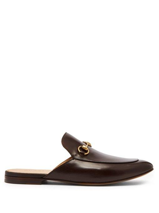 e0a1a817b3266 Gucci Kings Mule With Horsebit
