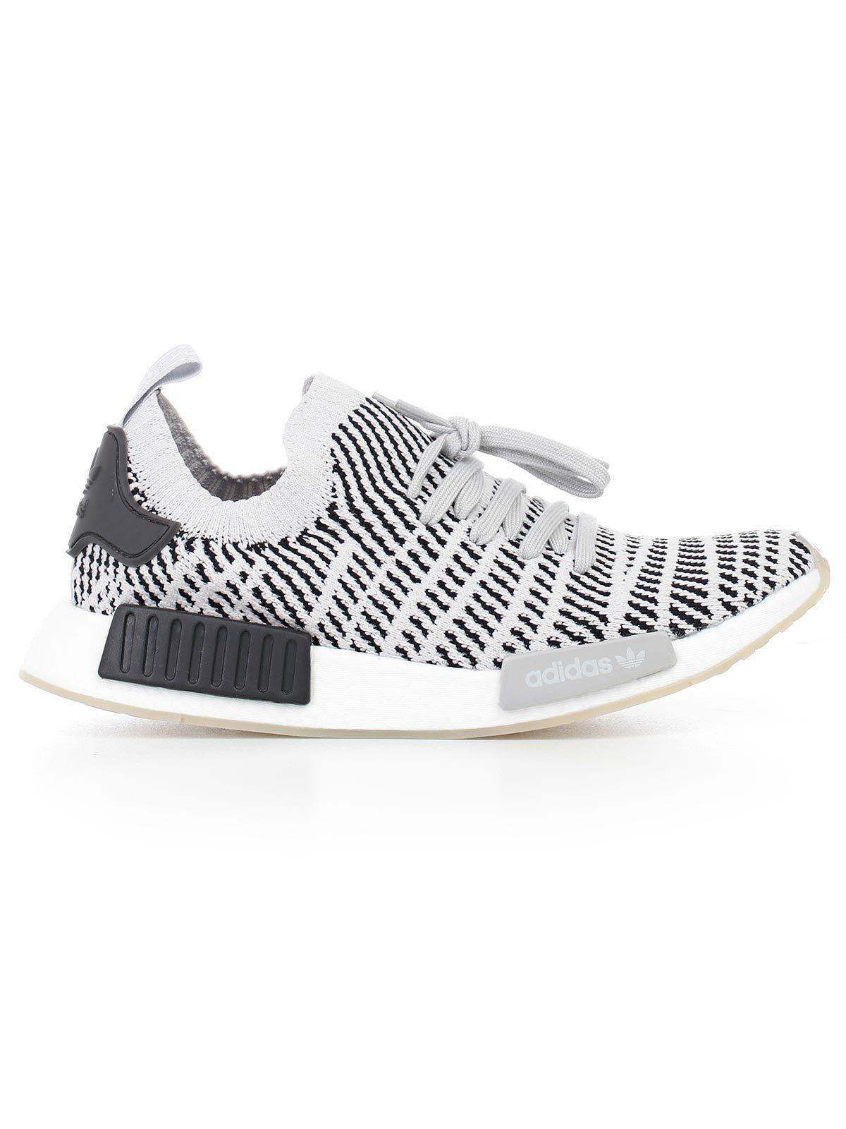 3aff77fd8 Adidas Originals Men s Nmd Runner R1 Stlt Primeknit Casual Shoes ...