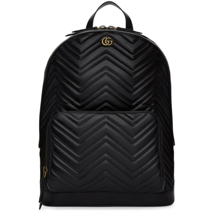 e768696ff91 Gucci Men s Gg Marmont Quilted Leather Backpack