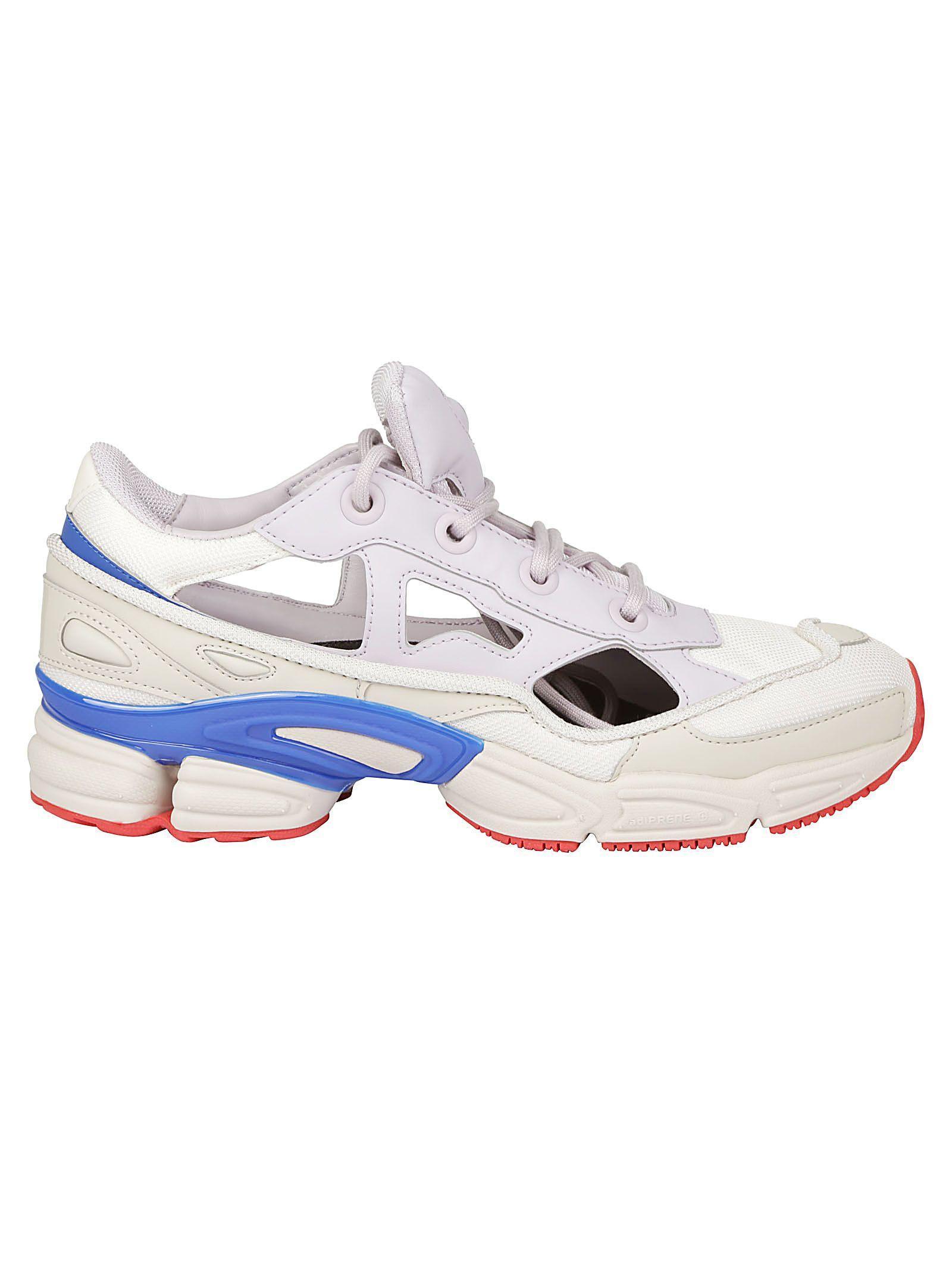 0022628f700d Adidas By Raf Simons Adidas X Raf Simons Replicant Ozweego Usa Panelled  Trainers In White