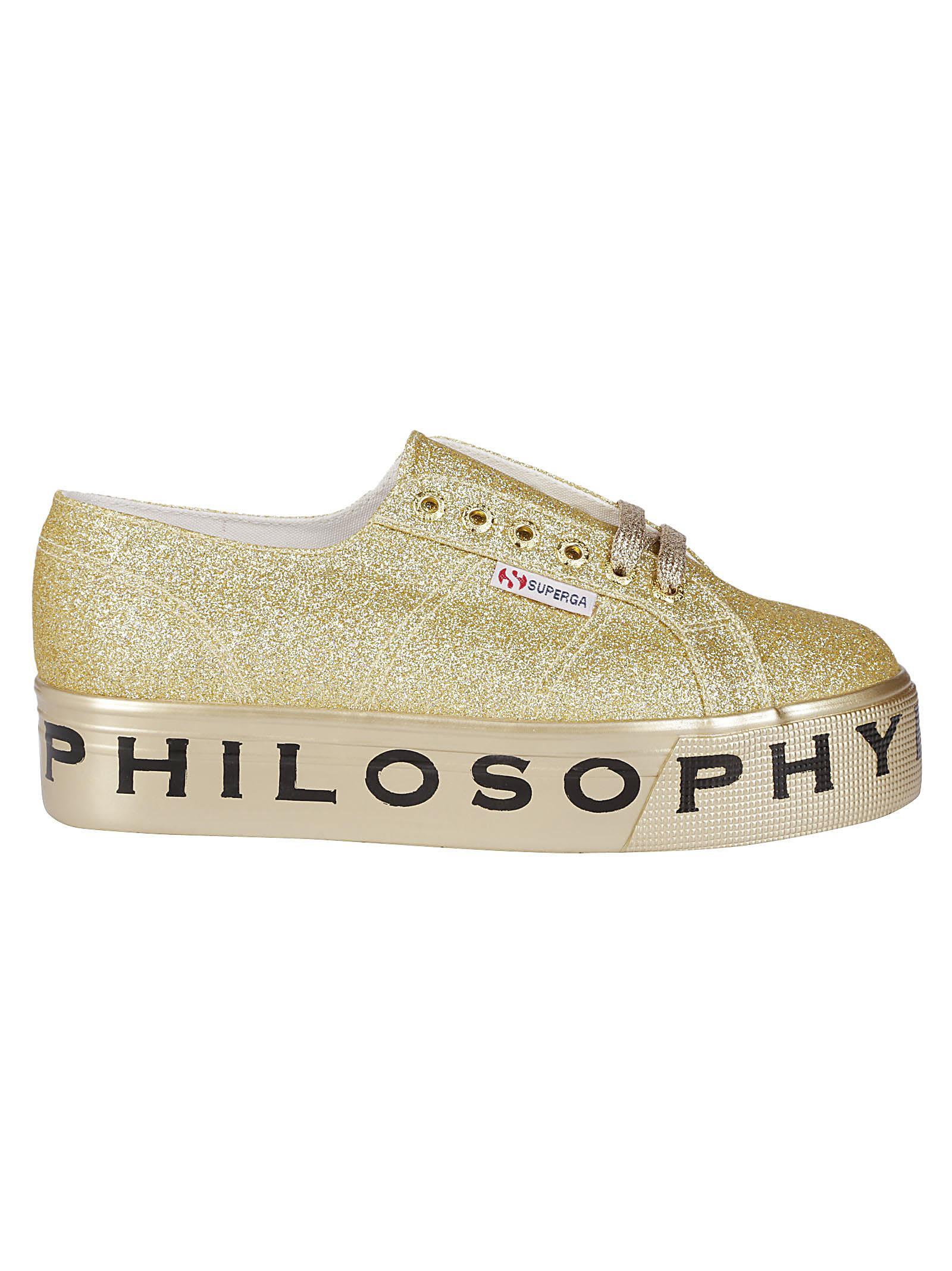 Superga Serafini Sneakers Glitter Platform Di Lorenzo Philosophy roeCdxB