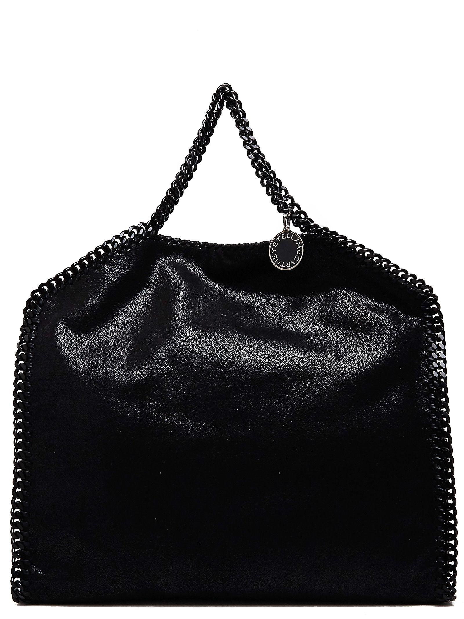 0a8b83fafc68 Stella Mccartney Falabella Shaggy Deer Faux Leather Tote - Black ...