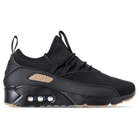 official photos 57ba8 3daa6 Nike Men's Air Max 90 Ez Casual Sneakers From Finish Line In Black/Black Gum