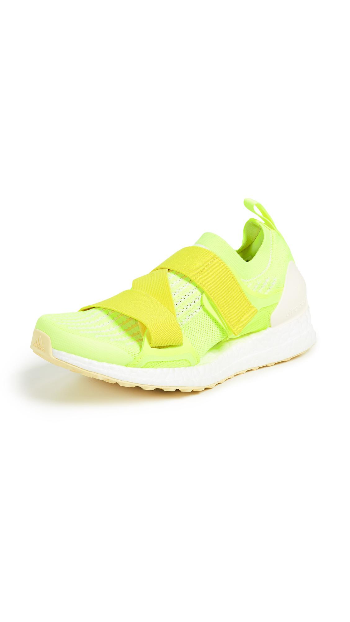 best sneakers 27202 7718f Adidas By Stella Mccartney Ultraboost X Fabric Sneakers, Bright Yellow In Solar  Yellow Yellow