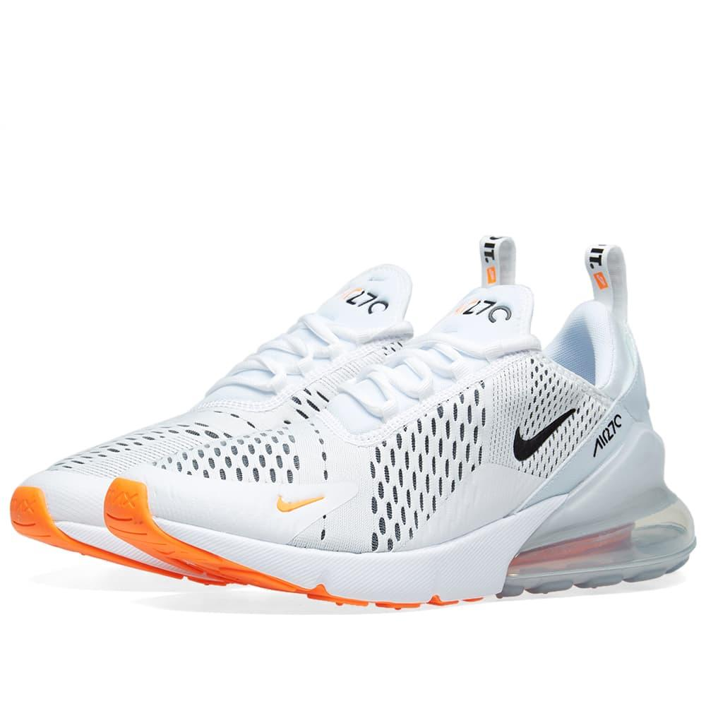6eff82467a Nike Men's Air Max 270 Casual Sneakers From Finish Line In White ...