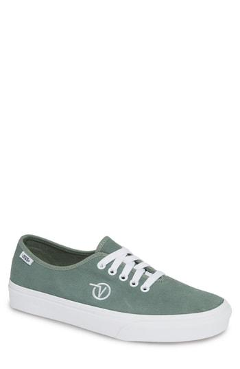 b633969888 Vans Ua Authentic One Piece Suede Sneakers In Sage Green