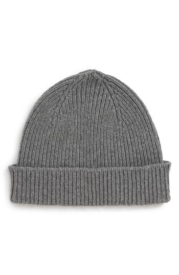 049a664f182 Paul Smith Cashmere And Merino Wool-Blend Beanie Hat In Grey