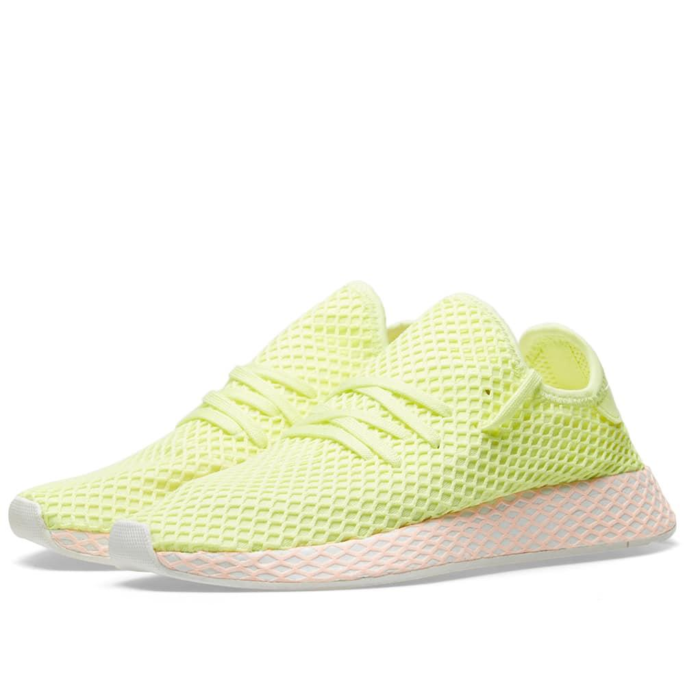 b54ea6c85 Adidas Originals Deerupt Sneakers In Yellow And Lilac - Yellow ...