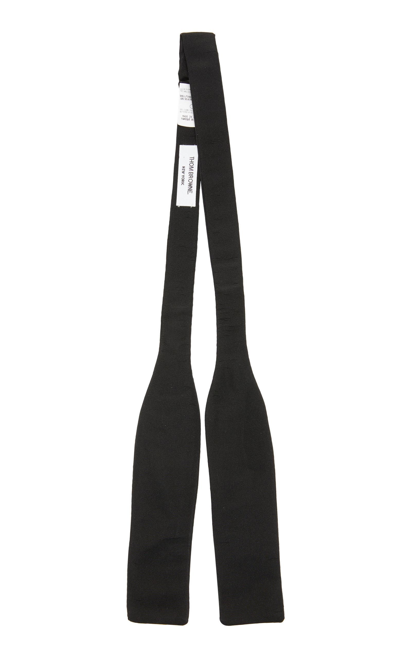 a6f83e3da42b Thom Browne Black Silk Classic Bow Tie | ModeSens