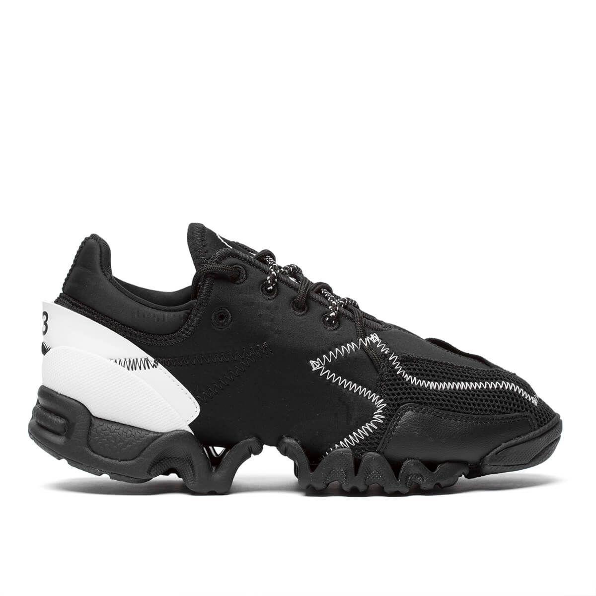 e73ea993ea268 Y-3 Black Ekika Sneakers
