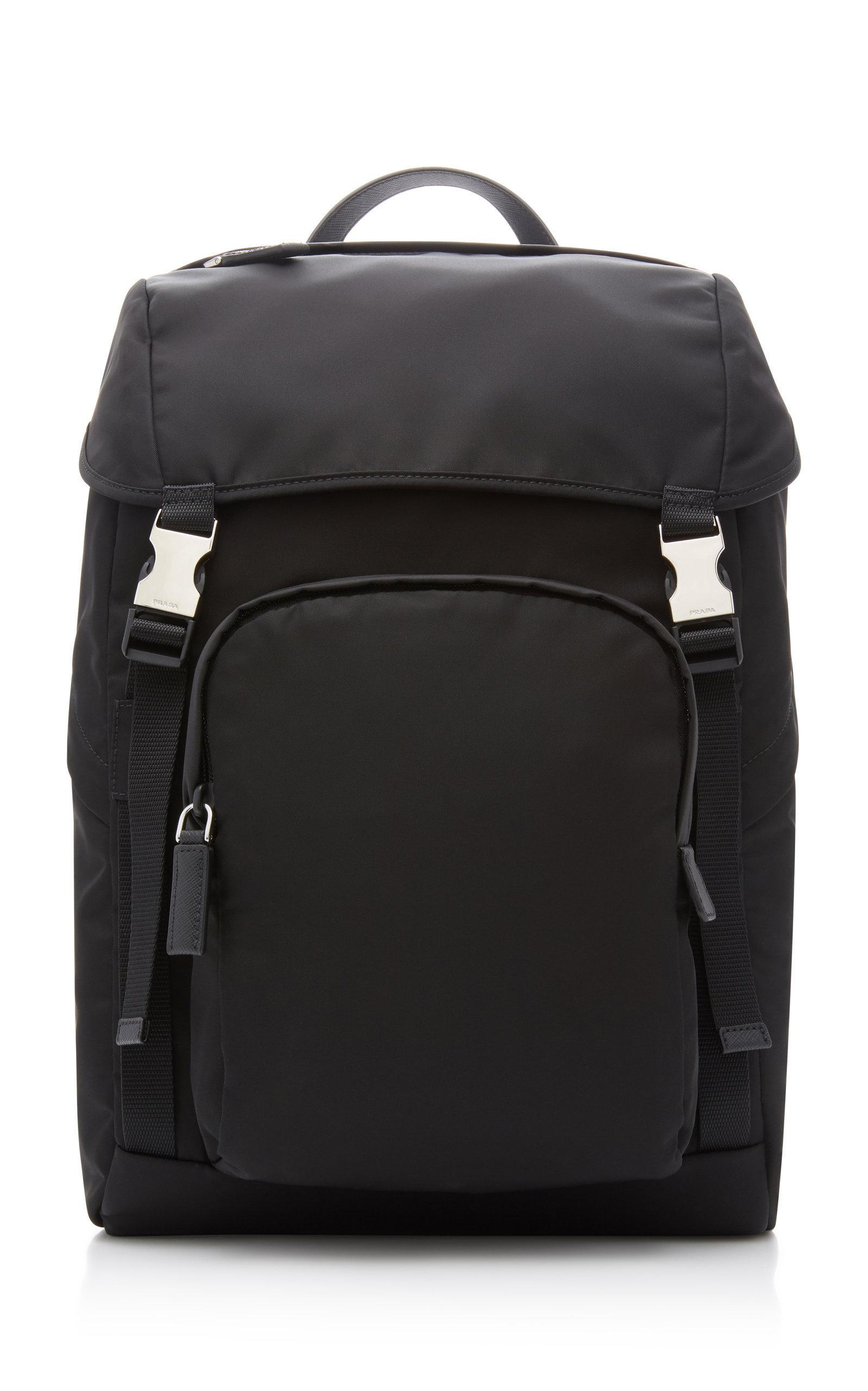 6d034af71113 Prada Utility Backpack - Black | ModeSens