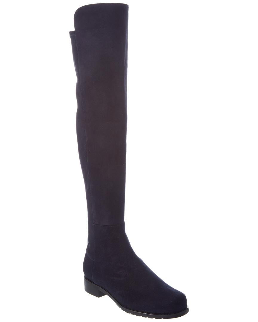 5a0be6ac435 Stuart Weitzman 5050 Stretch Suede Over The Knee Boots In Nocolor ...