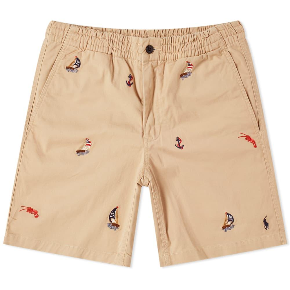Polo Ralph Lauren Sailing Shorts In Multi