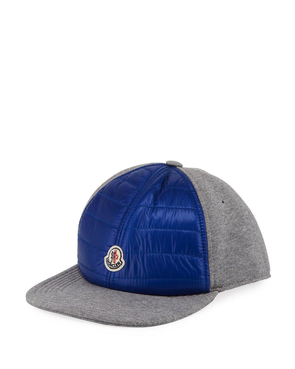 Moncler Men S Berretto Baseball Cap In Charcoal  962d961ff573