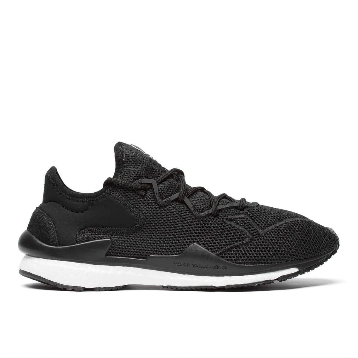b37f47225 Y-3 Adizero Runner Neoprene And Suede-Trimmed Mesh Sneakers - Black ...