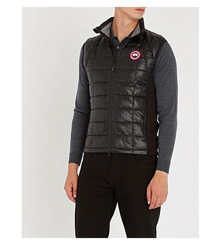 Canada Goose Hybridge Lite Quilted Shell-down Gilet In Black