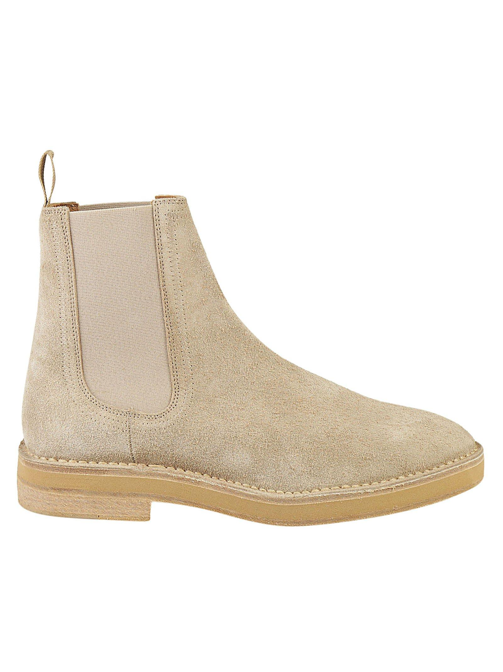 78b91c332 Yeezy Shaggy Suede Chelsea Boots In Neutrals. CETTIRE