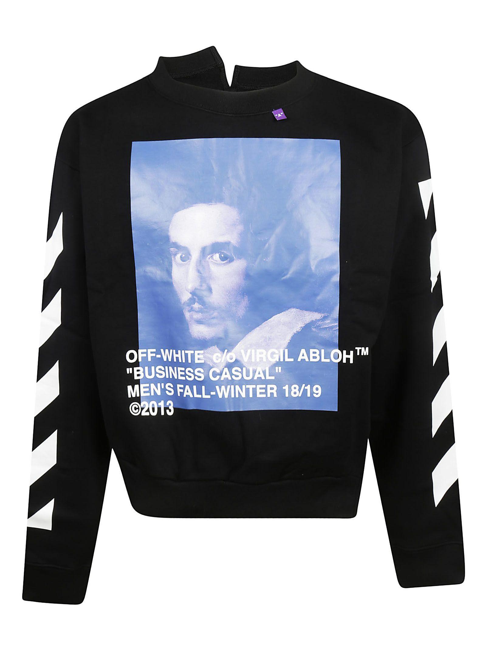 4cc90affd7 Off-White Black Diagonal Bernini Long Sleeve T-Shirt