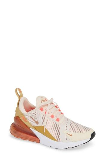 759f95fc25 Nike Women's Air Max 270 Casual Shoes, Pink In Nude & Neutrals ...