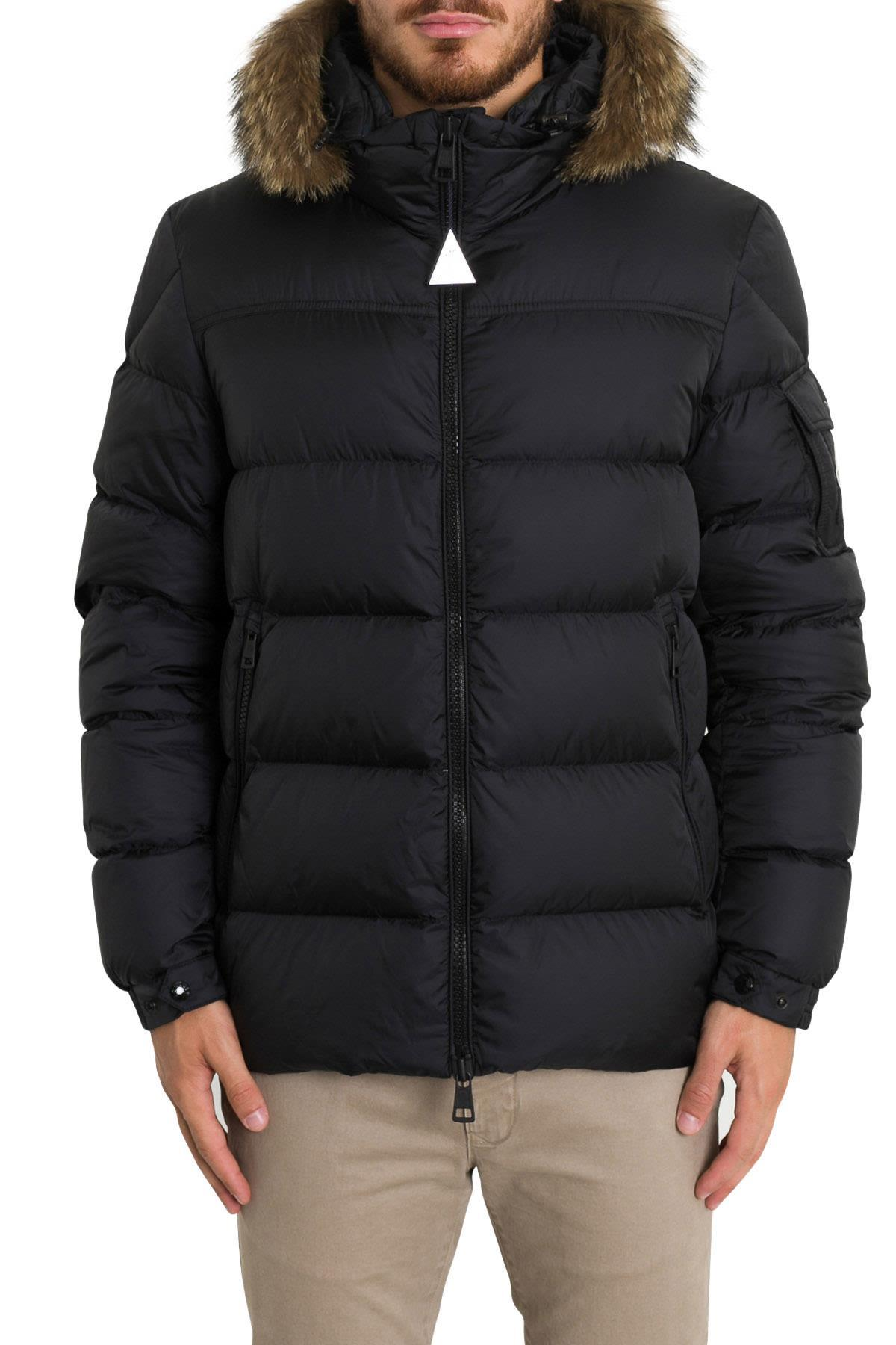 80de2262b2b5 Moncler Marque Quilted-Down Jacket In Black