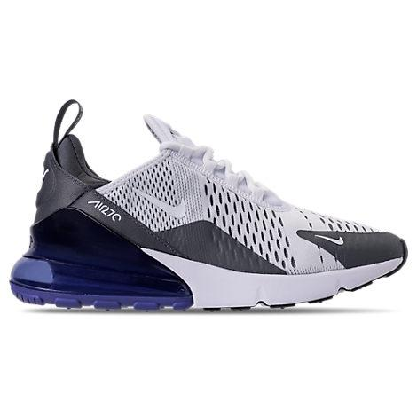 1324fa5f97 Nike Men's Air Max 270 Casual Sneakers From Finish Line In White/White -Persian
