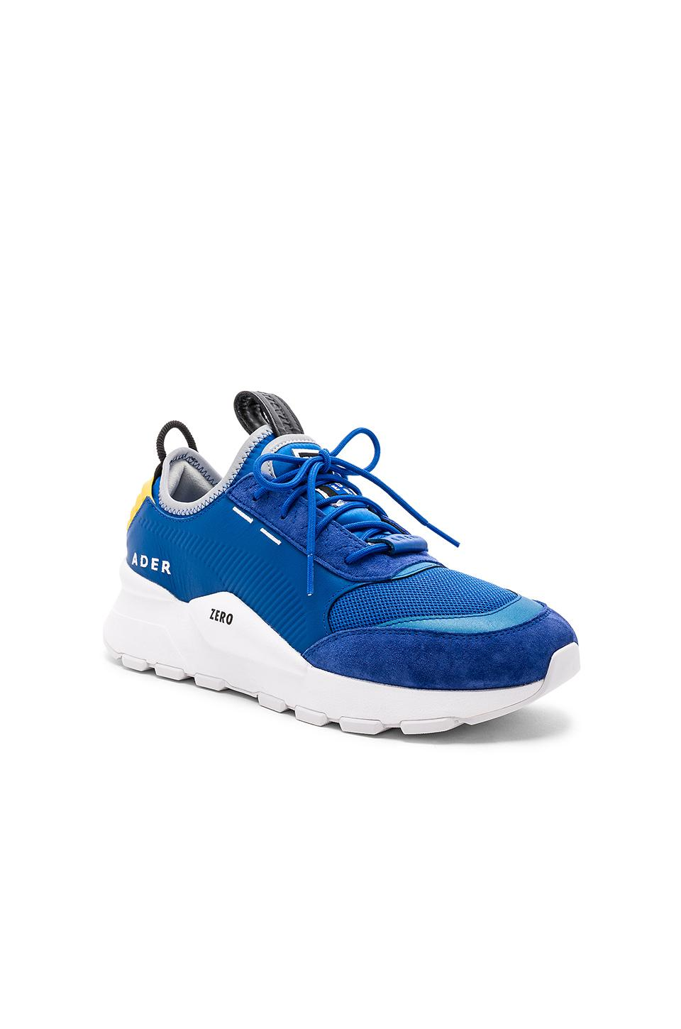 70b9260bc092f4 Puma Men s Ader Error Leather Trainer Sneakers In Blue