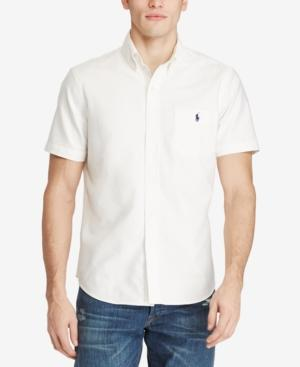 d4c65e9c4 Polo Ralph Lauren Cotton Oxford Classic Fit Button-Down Shirt In White