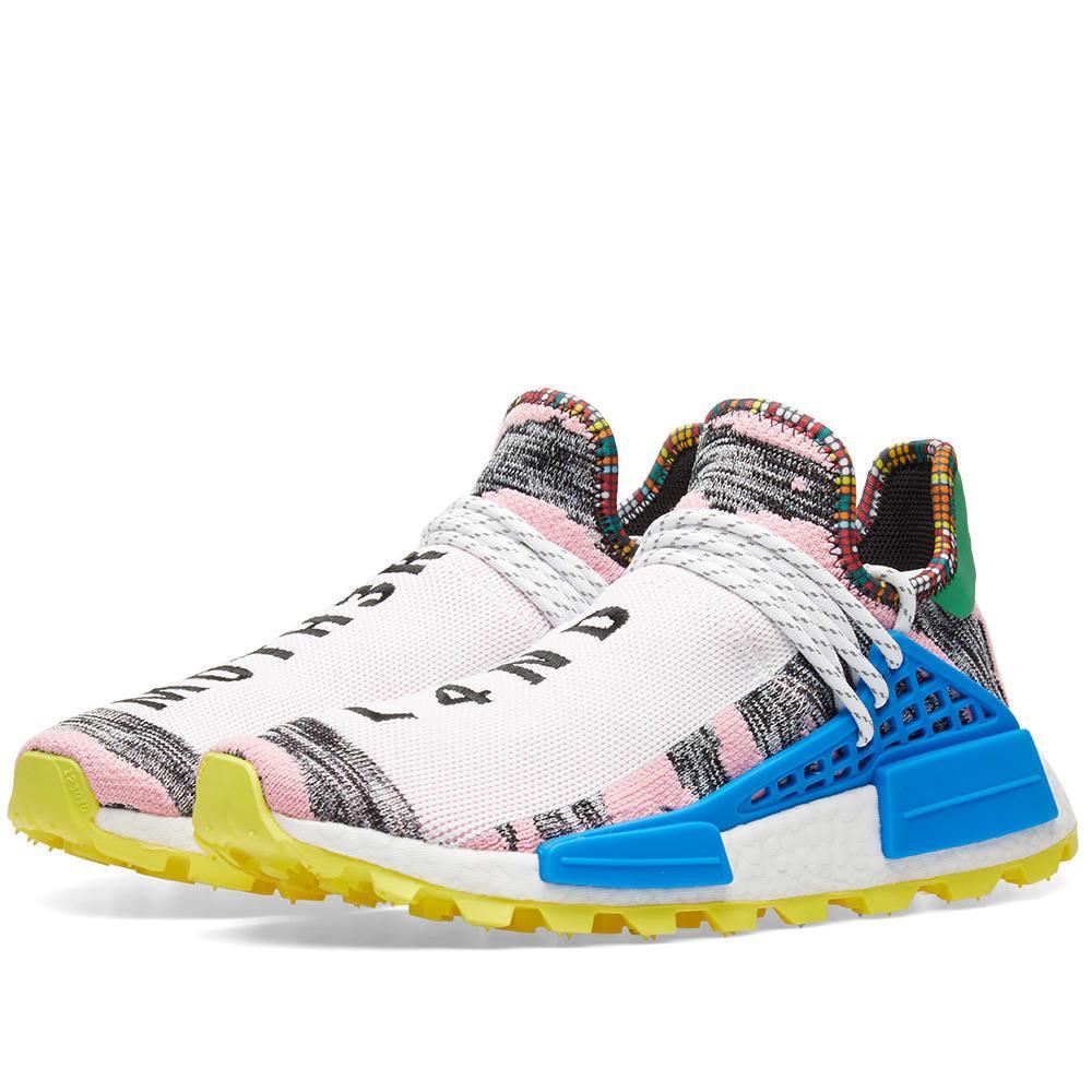 3f7a4cbc1 Adidas Consortium + Pharrell Williams Solarhu Nmd Primeknit Sneakers - Pink  In Multi