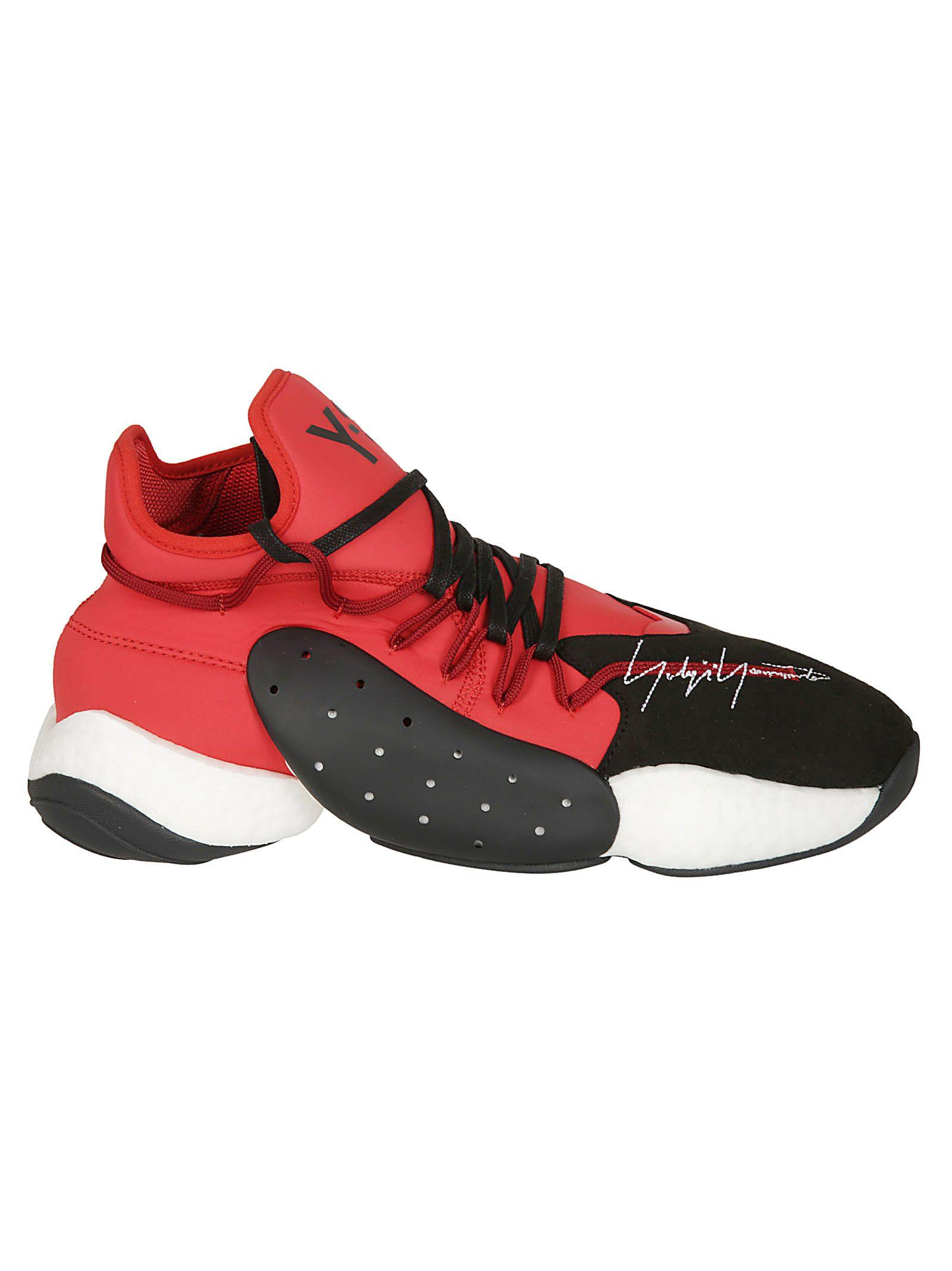 c1da8b6e54f Y-3 Men s Byw Leather Textile Basketball Trainer Sneakers